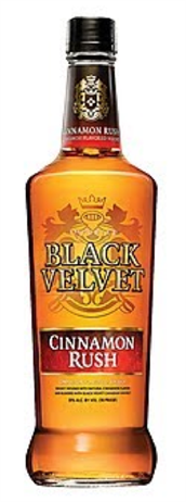 Black Velvet Canadian Whisky Cinnamon Rush